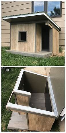 diy insulated dog house plans insulated dog house casas para perros casas para