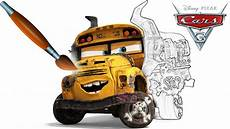 personnages cars 3 miss fritter cars 3 coloring book pages for