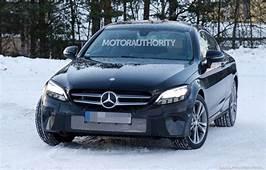 2020 Mercedes Benz C Class Coupe Spy Shots