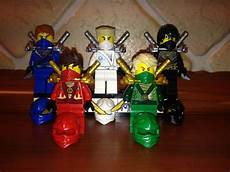 5x lego 174 ninjago figuren figur lloyd cole