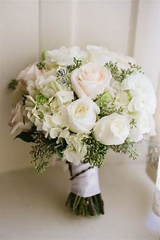 wedding wednesday white bridal bouquets with greenery flirty fleurs the florist blog