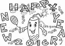 new years coloring pages printable at getcolorings
