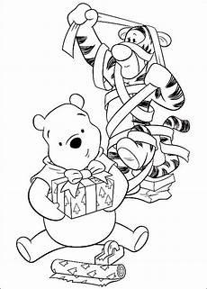 Winnie Pooh Weihnachten Ausmalbilder 35 Besten Winnie The Pooh Bilder Auf Malb 252 Cher