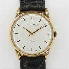 automatik armbanduhr herren iwc schaffhausen 18ct gold herren automatik armbanduhr aus