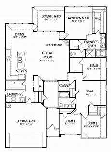 pulte house plans floor plan cranbrook new home in west fork ranch
