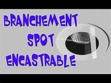 Branchement Spot Encastrable