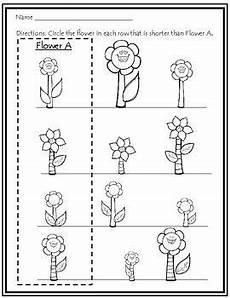 plants measurement worksheets 13586 taller tallest shorter shortest flower measurement worksheets measurement