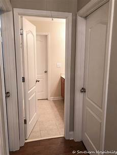 painting interior doors changing hardware southern