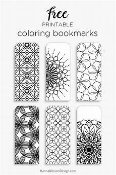 coloring bookmarks print color and read nilsson