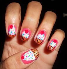 cute cupcake nail tutorial how to paint cupcake nail