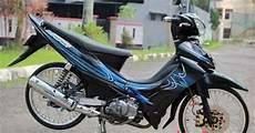 Jupiter Z Hitam Modif Simple Vegafans