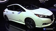 nissan usa 2020 2020 nissan leaf exterior and interior walkaround