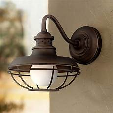franklin park metal cage 13 quot high bronze outdoor wall light 2t224 ls plus