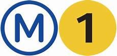 File Logo Ligne 1 Svg Wikimedia Commons