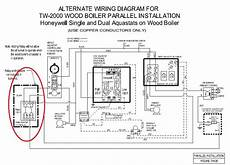 honeywell boiler wiring diagram wiring a honeywell ra89a relay hvac diy chatroom home improvement forum