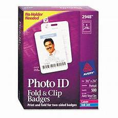 avery fold clip id name badges ave2948 shoplet com