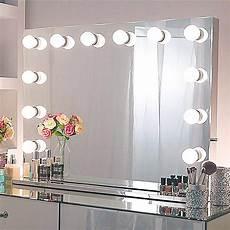 schminktisch spiegel beleuchtet hollywood spiegel mit led beleuchtung schminkspiegel licht