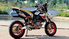Variasi Motor Klx by Modifikasi Kawasaki Klx 150 Model D Tracker Cuma Variasi