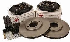 wilwood for vw golf mk2 brake kit midilite 4 pot calipers