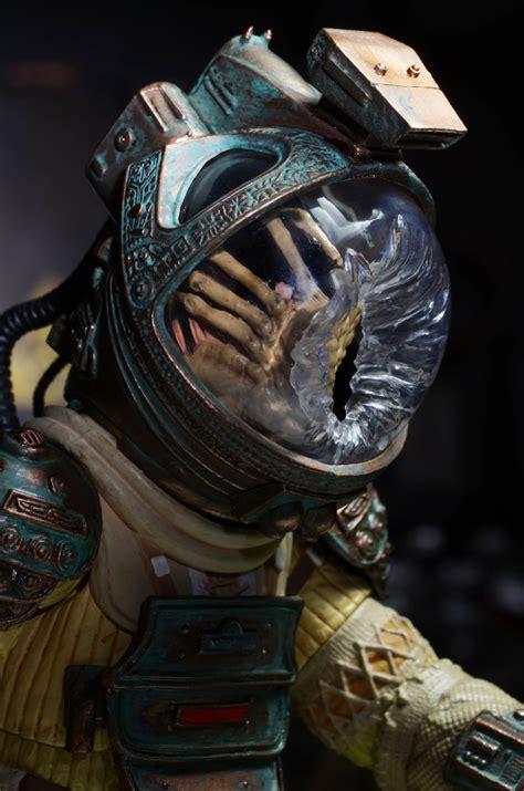 Alien Facehugger Attack Scene