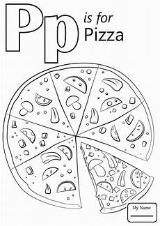 Ausmalbilder Buchstaben P Lowercase Letter P Coloring Page For Kindergarten Free