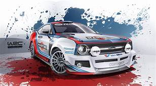Ford Escort Mk2 Reimagined As Modern WRC Car Complete With