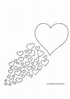 Malvorlagen Herz Winter Gro 223 Es Herz Mit Vielen Kleinen Herzen Nadines Ausmalbilder
