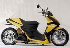 Modifikasi Motor Skywave by Modifikasi Suzuki Skywave 125 Cc Rolling Thunders Oto Blitz