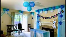 Frozen Themed Birthday Decorations