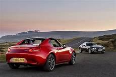 All New Mazda Mx 5 Rf Named Roadster Of The Year At The