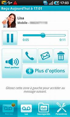 La Messagerie Vocale Visuelle Bouygues Telecom Sur Android