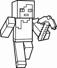 malvorlagen minecraft enderman kinder zeichnen und ausmalen