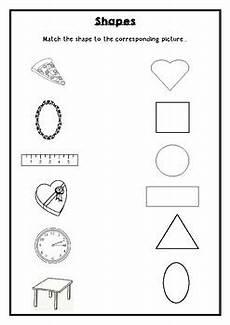 shapes matching worksheets for kindergarten 1180 shapes match worksheet by rehana s store teachers pay teachers