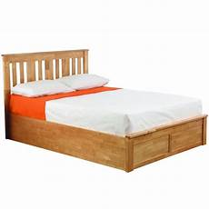 oak coliseum wooden ottoman bed bedroom furniture