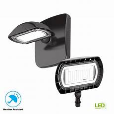 commercial electric bronze outdoor integrated led