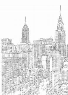 Malvorlagen New York Skyline Ausmalbilder New York
