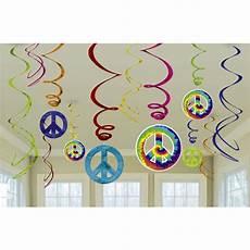 flower power 70er flower power 60er 70er jahre hippie deko set servietten