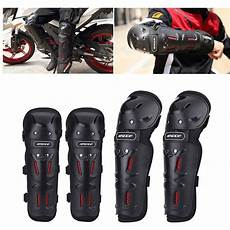 4pcs motorcycle knee elbow protector motocross racing knee shin guard pads ebay