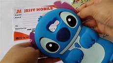 Casing Hp Lucu Silicone 3d Kartun Karakter Lilo Stitch