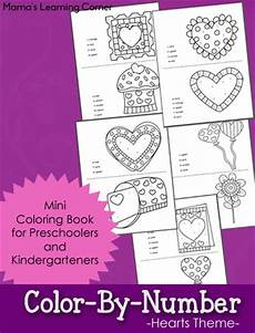 color by number worksheets hearts 16061 free themed color by number worksheets free homeschool deals