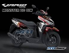 Modif Stiker Vario 125 by Jual Energy Striping Modifikasi Vario 125 Dan 150