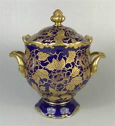 Rosenthal Figuren Verzeichnis - bonboniere rosenthal 30er jahre kobaltblau mit goldenen