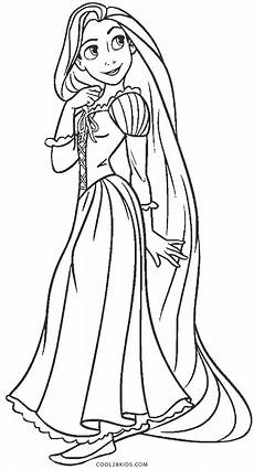 free printable rapunzel coloring pages for