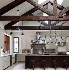 interior beams truss mantle rustic wood reclaimed 30 stunning interior living spaces with exposed ceiling