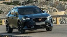 new cupra formentor images and video on the road in