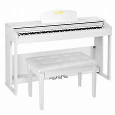 electric piano 88 weighted 88 key weighted hammer electric digital piano w bench 3 pedal stand white ebay