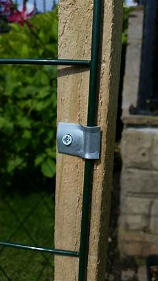 metal panel securing fencing wire fence fasteners clip screws ebay