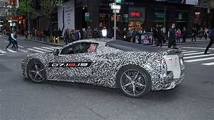 Chevy Confirms That A Mid Engined C8 2020 Corvette Will