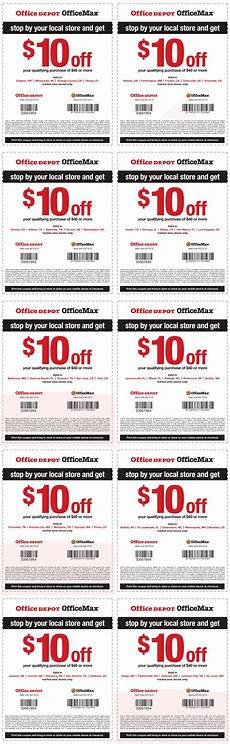 Office Depot Coupons October 2015 by Office Depot Coupons 10 40 At Officemax Office Depot