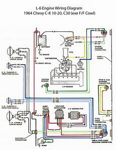 Electric L 6 Engine Wiring Diagram Chevy Trucks